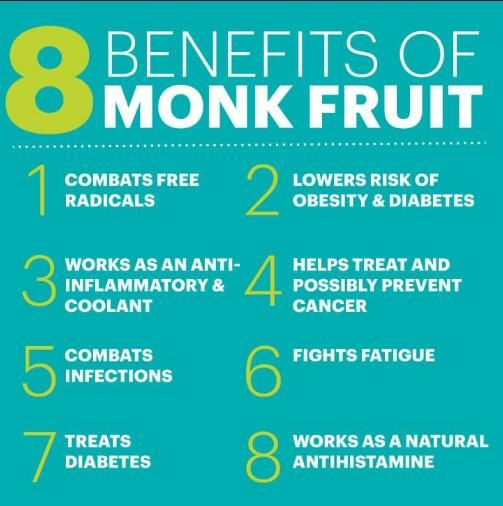 pure monk fruit powder benefits