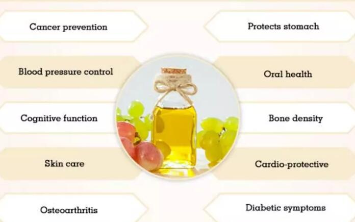 How many calories in grape seed oil