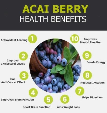 organic acai berry benefits